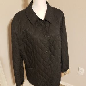 Burberry plus 2x quilted jacket